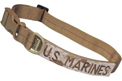 Large Tactical Dog Collar 17-23 in. U.S. MARINES