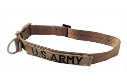 Large Tactical Dog Collar 17-23 in. U.S. ARMY