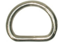 1in. Stainless D-Ring