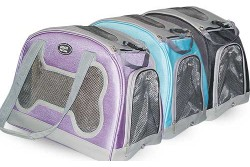 "Pet Carrier w/Bone Window 9.5""W x 16.5""L x 11""T"