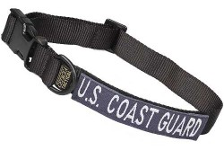 Large Tactical Dog Collar 17-23 in. U.S. COAST GUARD