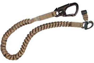 Coiled Dog Tracker Leash