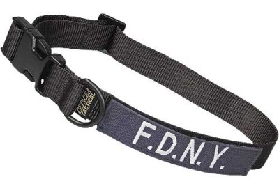 Large Tactical Dog Collar 17-23 in. F.D.N.Y.