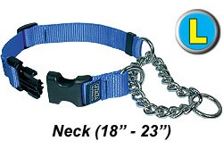 Large Chain Martingale Dog Collar